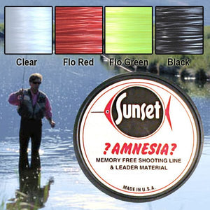 Sunset Amnesia Memory Free Monofilament Trace | 20lb / 9.1kg 100m - LURE ME - Online Fishing Tackle.