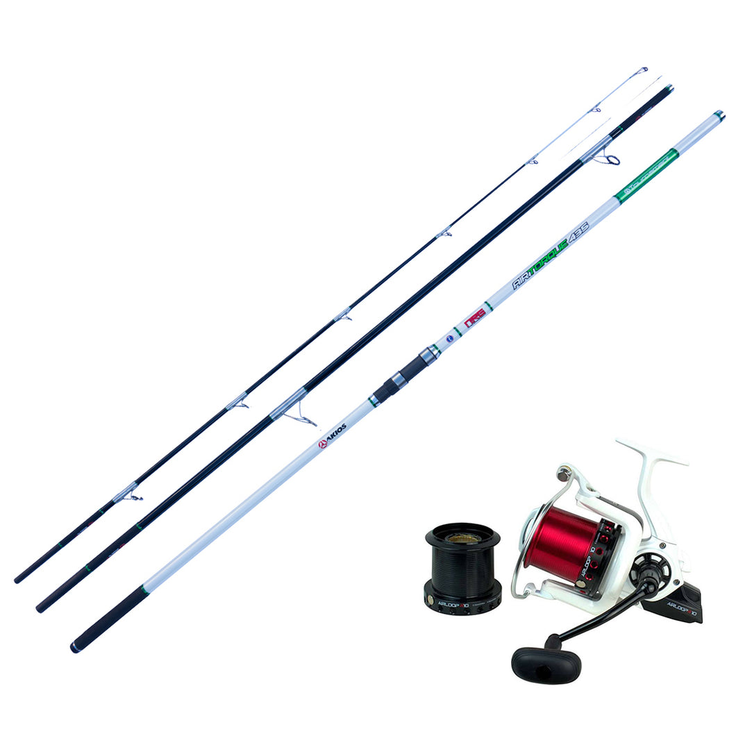 Surf Casting Combo - Akios Airloop R10 and AirTorque Surf Rod - LURE ME - Online Fishing Tackle.