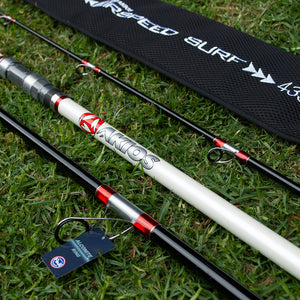 Akios AirSpeed Surf 435 Continental Surf Rod - LURE ME - Online Fishing Tackle.