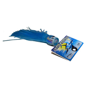 "Oscar Junior 8½"" Tuna Lure / Marlin Lure - UV / Blue - LURE ME - Online Fishing Tackle."