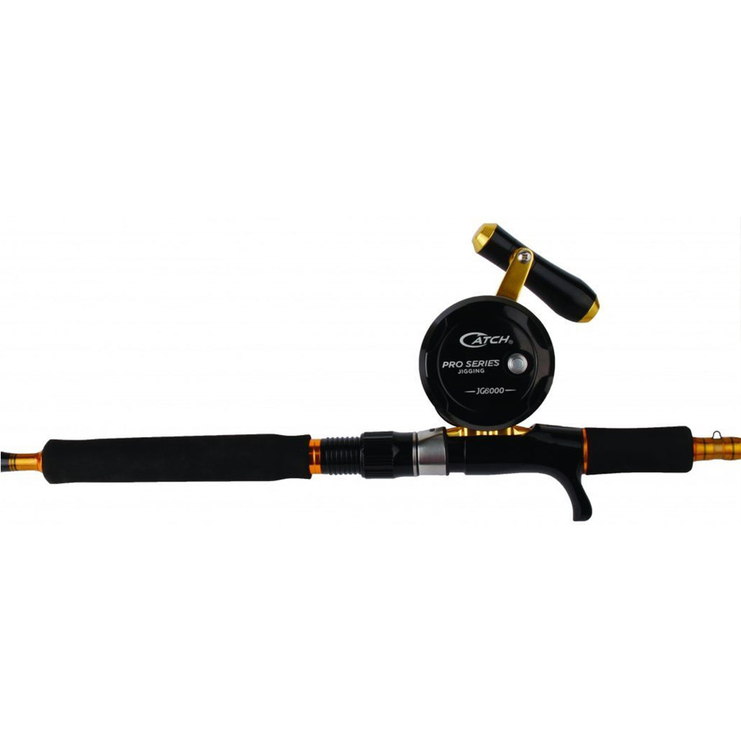 Catch Acid Wrap 200 - 400 gram Xtreme Jigging Rod and JG6000 Reel Combo - LURE ME - Online Fishing Tackle.