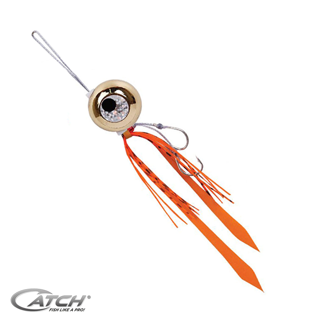 Catch Freestyle Kabura Slider Jig - Gold (60 - 100 gram) - LURE ME - Online Fishing Tackle.