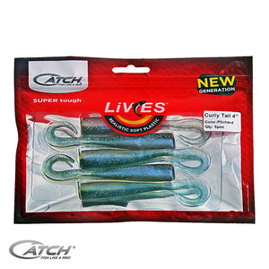 Catch Livies Softbait Pack - Curly Tail Pilchard - LURE ME - Online Fishing Tackle.