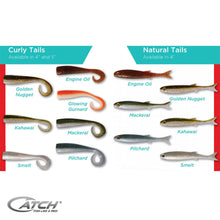 Catch Livies Softbait Pack - Natural Tail Engine Oil - LURE ME - Online Fishing Tackle.