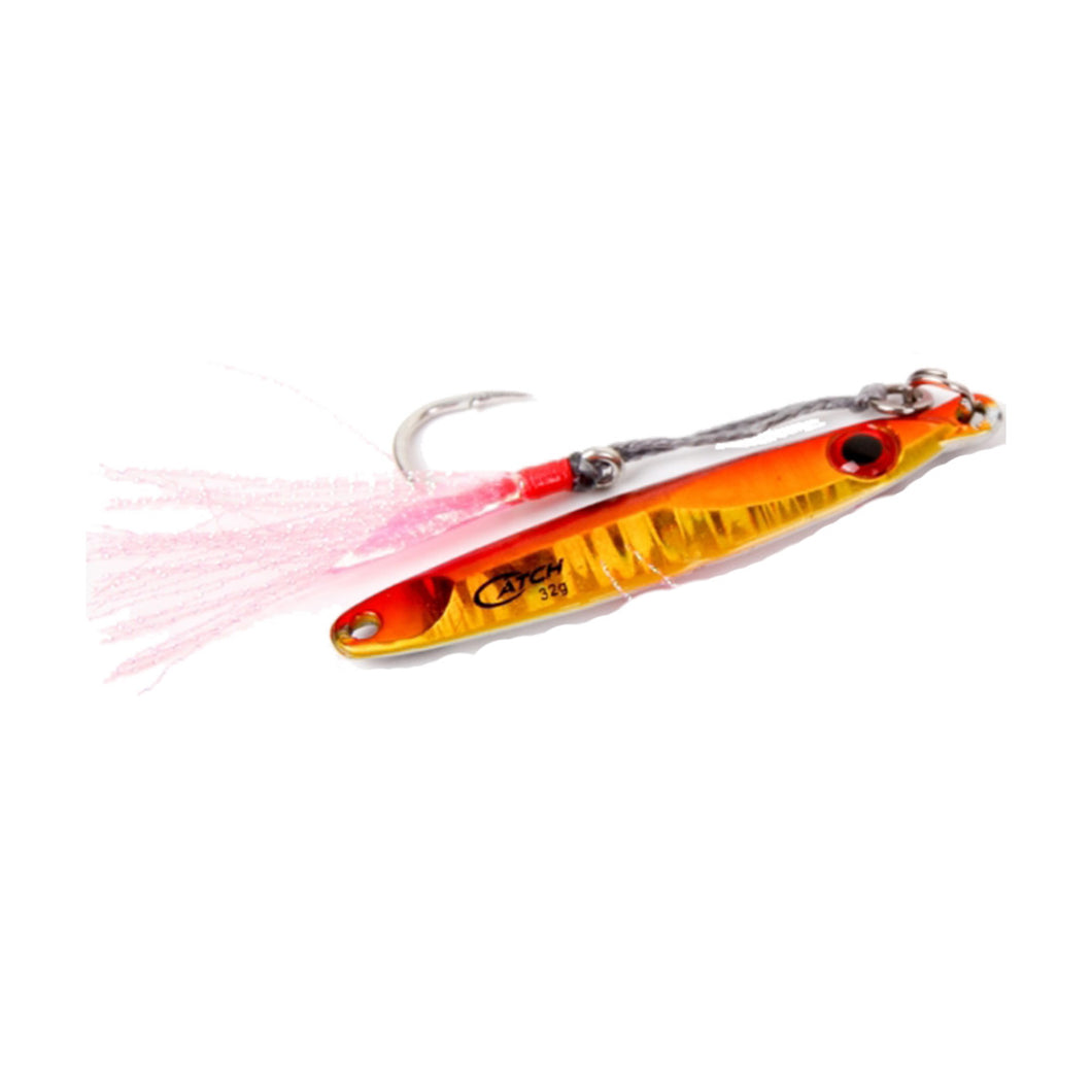 Catch Pocket Rocket Tungsten Micro Jig - Orange Assassin - LURE ME - Online Fishing Tackle.