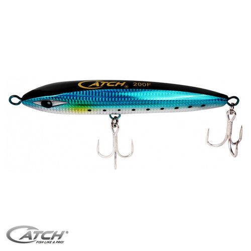 Catch Scythe Unbreakable Stickbait Topwater Lure in Green Reaper - LURE ME - Online Fishing Tackle.