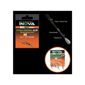 INOVA Dyno Swivel Clip - LURE ME - Online Fishing Tackle.