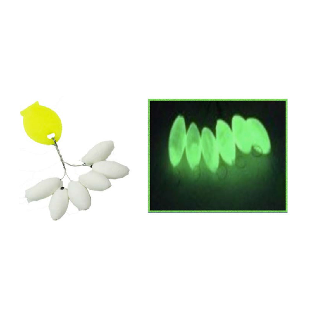 INOVA Glow Grip Stop Oval Beads - LURE ME - Online Fishing Tackle.