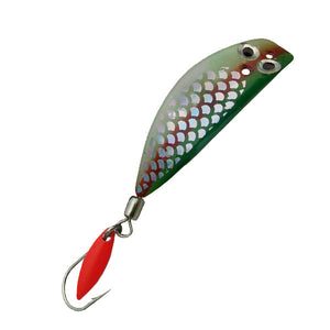 Trout Killer Trolling Lure - Holographic Army Truck Glow - LURE ME - Online Fishing Tackle.