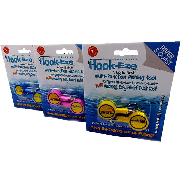 Hook Eze River and Coast Triple Twin Packs - LURE ME - Online Fishing Tackle.