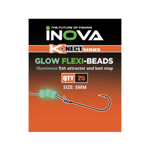 INOVA Glow Flexi Beads - LURE ME - Online Fishing Tackle.