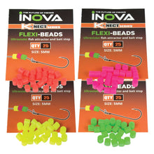 INOVA Flexi Beads - 25 Pack - LURE ME - Online Fishing Tackle.