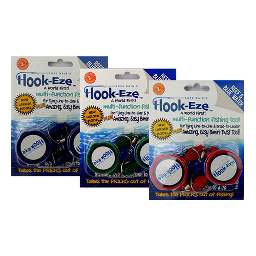 Large Hook Eze Fishing Knot Tool Triple Twin Pack Deal - LURE ME - Online Fishing Tackle.