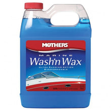 Mothers Marine Wash'n Wax 946ml - LURE ME - Online Fishing Tackle.