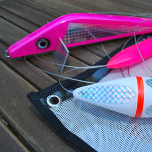 Richter Squid Teaser Set in Pink - Game Fishing Teasers - LURE ME - Online Fishing Tackle.