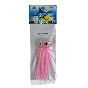 Richter Lures Jelly Babe Twin Pack - 46 (Pink) - LURE ME - Online Fishing Tackle.
