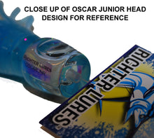 "Oscar Junior 8½"" Tuna Lure / Marlin Lure - UV / Chartreuse - LURE ME - Online Fishing Tackle."
