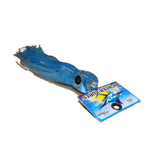 "Soft Oscar 10"" Game Fish Lure - UV Blue - LURE ME - Online Fishing Tackle."