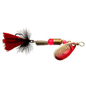 Spinster Spin Fishing Lure | Dressed Pinky Red - LURE ME - Online Fishing Tackle.