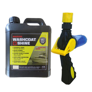 Salt Attack Marine Washcoat and Shine Starter Kit - LURE ME - Online Fishing Tackle.