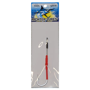 Single Shogun Hook Game Fishing Rig 6/0 - 12/0 - LURE ME - Online Fishing Tackle.