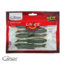 Catch Livies Softbait Pack - Natural Tail Mackerel - LURE ME - Online Fishing Tackle.