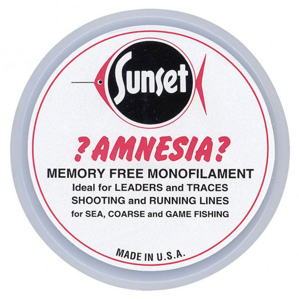 Sunset Amnesia Memory Free Monofilament Trace | 10lb / 4.5kg - LURE ME - Online Fishing Tackle.