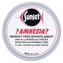 Sunset Amnesia Memory Free Monofilament Trace | 50lb / 22.7kg 50m - LURE ME - Online Fishing Tackle.