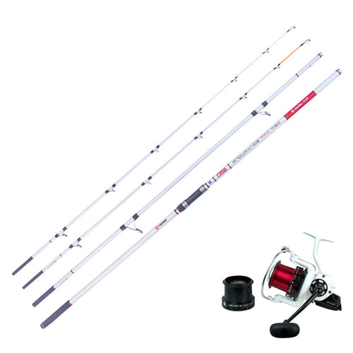 Surf Casting Combo - Akios Airloop R8 and Endurance Pro RS2 Dual Tip Rod - LURE ME - Online Fishing Tackle.