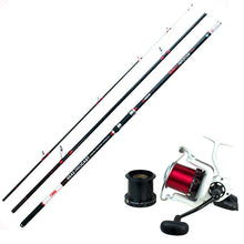 Surf Casting Combo - Akios Airloop R10 and Hellrazor SS420 Rod - LURE ME - Online Fishing Tackle.