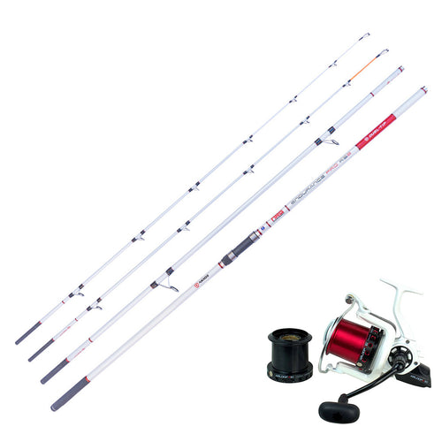 Surf Casting Combo - Akios Airloop R10 and Endurance Pro RS2 Dual Tip Rod - LURE ME - Online Fishing Tackle.