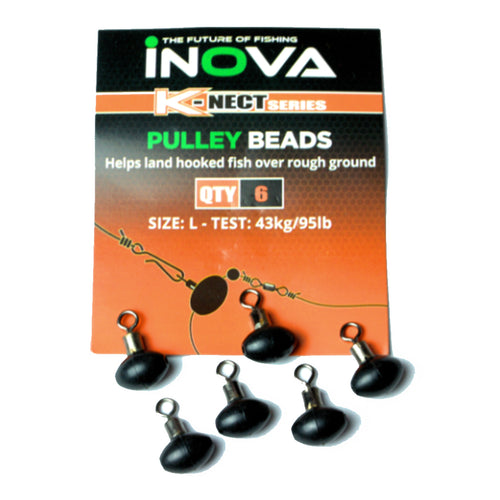 INOVA Pulley Beads for Pulley or Slider Rigs - LURE ME - Online Fishing Tackle.