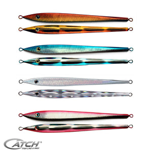 Catch Long John Slider Ballistic Blue Mechanical Jig (150-300g) - LURE ME - Online Fishing Tackle.
