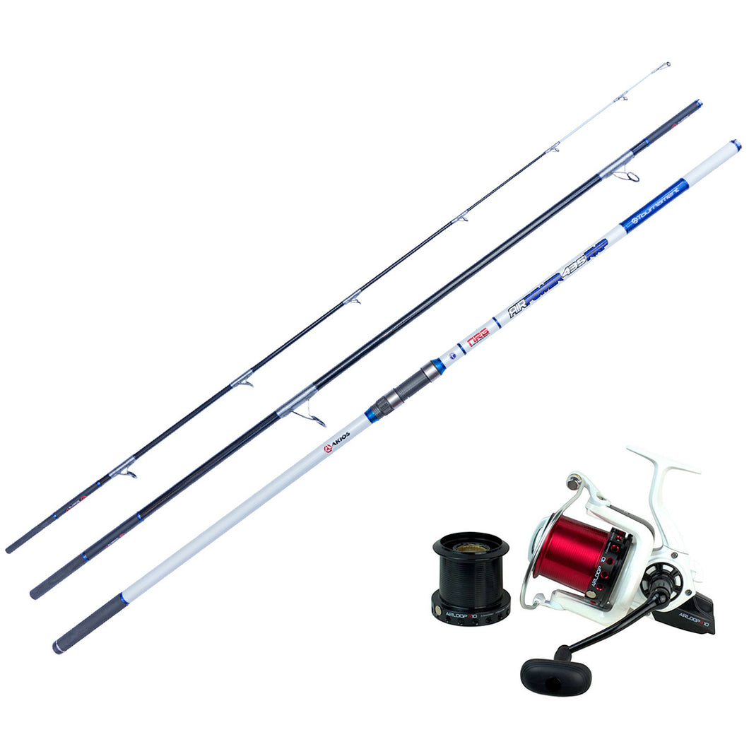 Best Surf Casting Combo - Akios Airloop R10 and AirPower Surf Rod - LURE ME - Online Fishing Tackle.