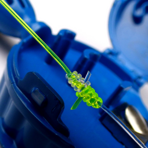 Large Hook Eze Fishing Knot Tying Tool - Reef and Blue Water Twin Pack in Green - LURE ME - Online Fishing Tackle.