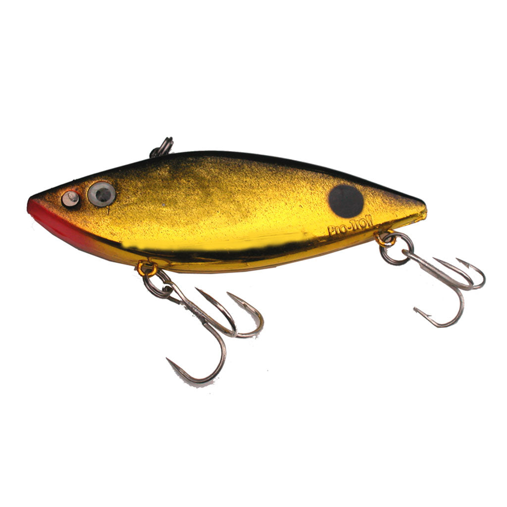 Zapper Crankbait - Gold Black Back - LURE ME - Online Fishing Tackle.