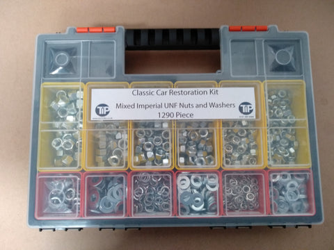 Classic car restoration nut and bolt kits