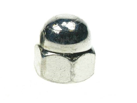 Dome Head Hex Nut Zinc Plated
