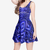 Emcee Women's Sleeveless Midi Casual Flared Skater Dress
