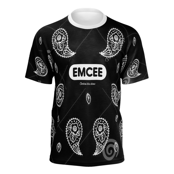 Emcee Representor Black Graphic Tee