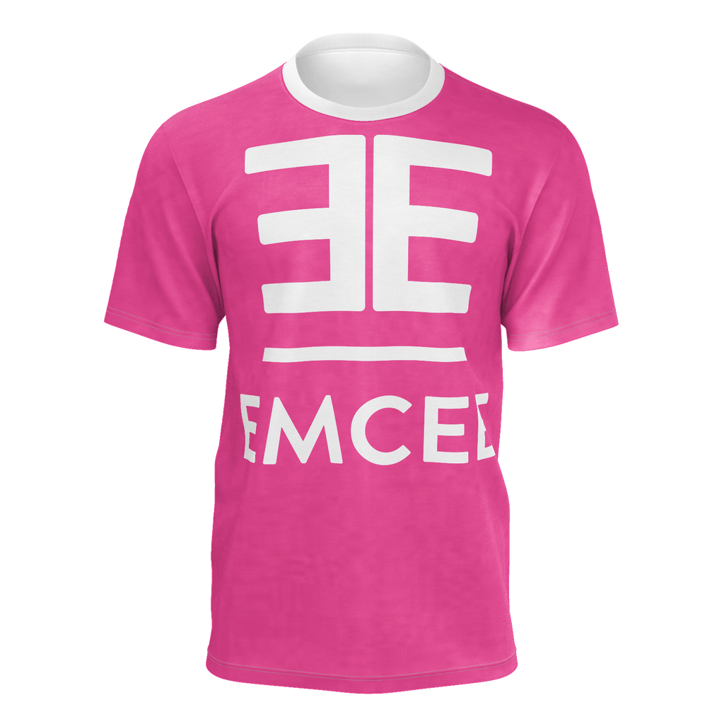Emcee Pink Graphic Tee