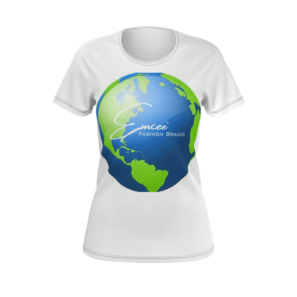 Emcee Womens WORLD WIDE Tee