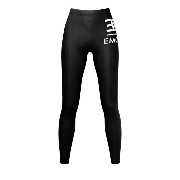 Black Emcee Leggings