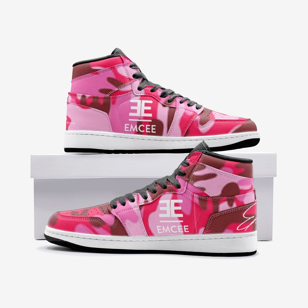 Emcee 'The ONE'S' Pink Camo Sneakers TR