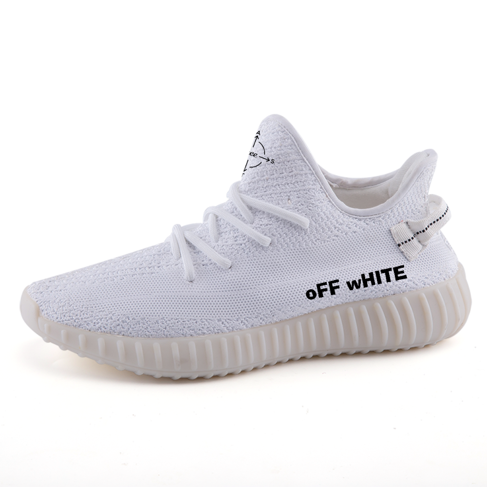 "Emcee ""oFF wHITE""Lightweight fashion sneakers"
