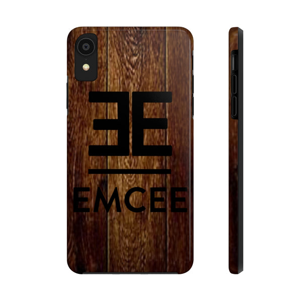 Emcee Diamonds and Wood Tough Phone Cases