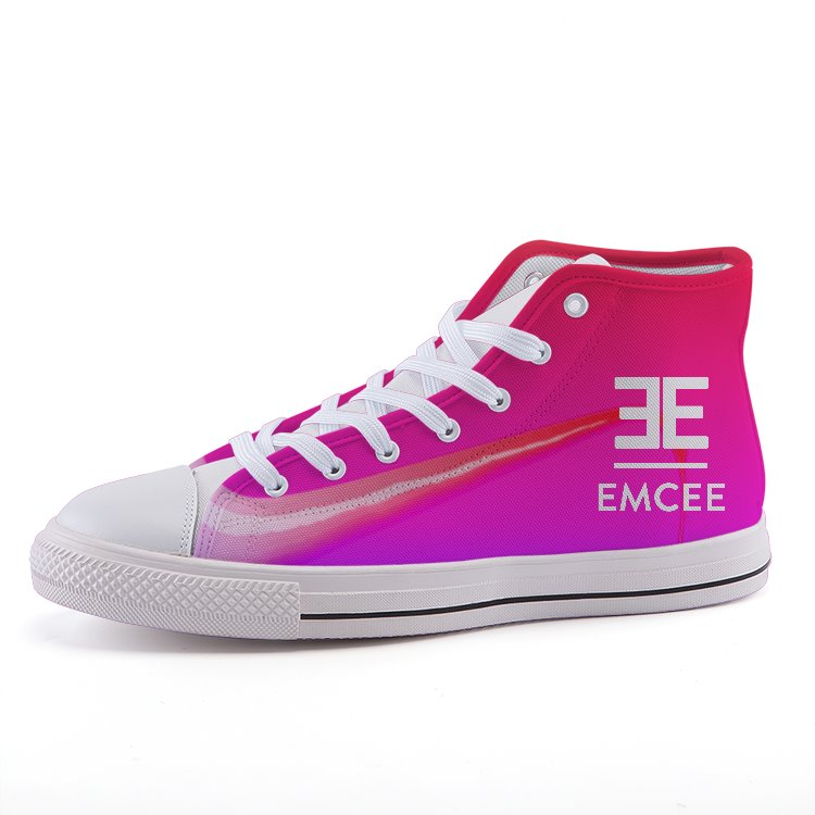Emcee Ladies ORBIT High-top fashion canvas shoes