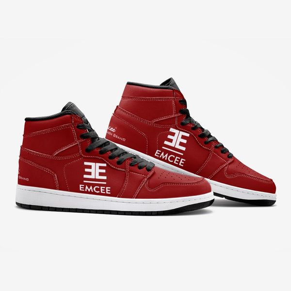 "Emcee ""The ONES"" Red Basketball Sneaker TR"