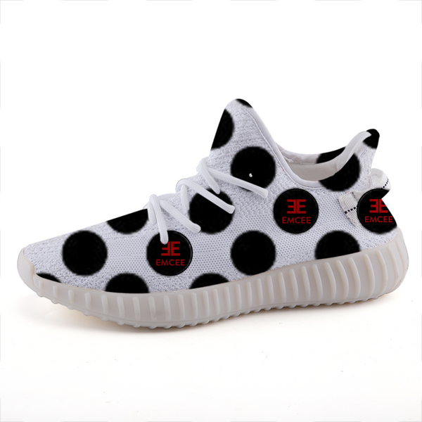 Emcee Polka Dot Lightweight fashion sneakers