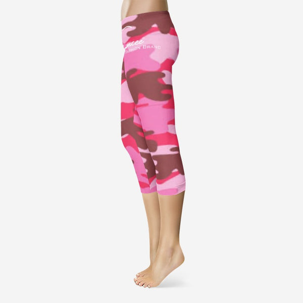 Emcee All-Over Print Capri Leggings